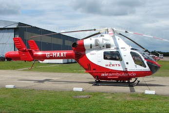 G-HAAT - Police Aviation Services MD Helicopters MD-900 Explorer