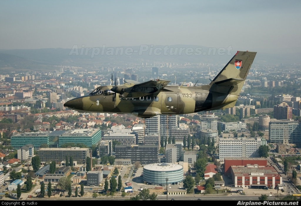 Slovakia -  Air Force 1133 aircraft at In Flight - Slovakia