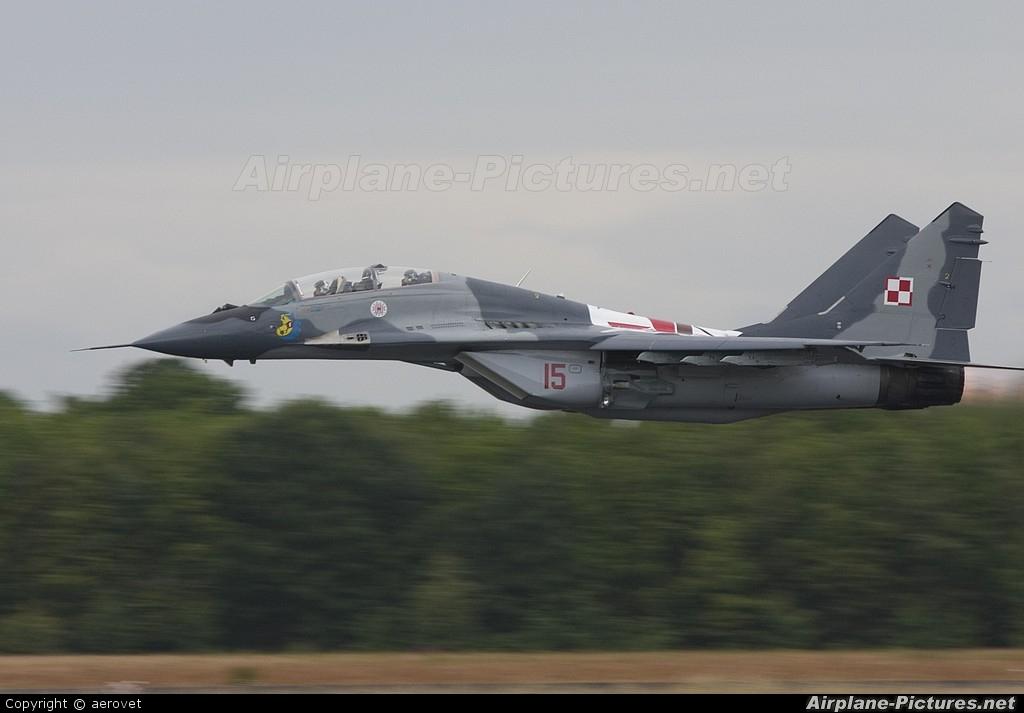 Poland - Air Force 15 aircraft at Uden - Volkel