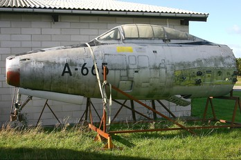 A-665 - Denmark - Air Force Republic F-84G Thunderjet