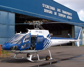 PP-EHZ - Brazil - Government Aerospatiale AS350 Ecureuil / Squirrel