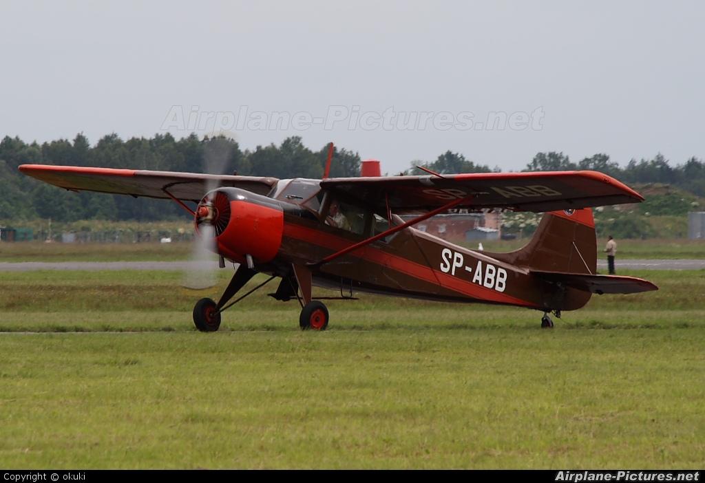 Aeroklub Orląt SP-ABB aircraft at Dęblin
