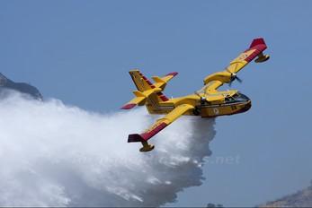 I-DPCN - Italy - Protezione civile Canadair CL-415 (all marks)