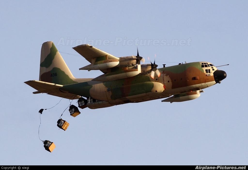Israel - Defence Force 436 aircraft at Beersheba - Hatzerim
