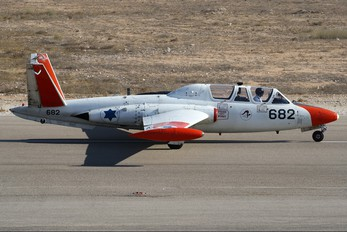 682 - Israel - Defence Force Fouga CM-170 Magister