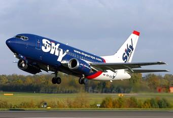 OM-SEB - SkyEurope Boeing 737-500