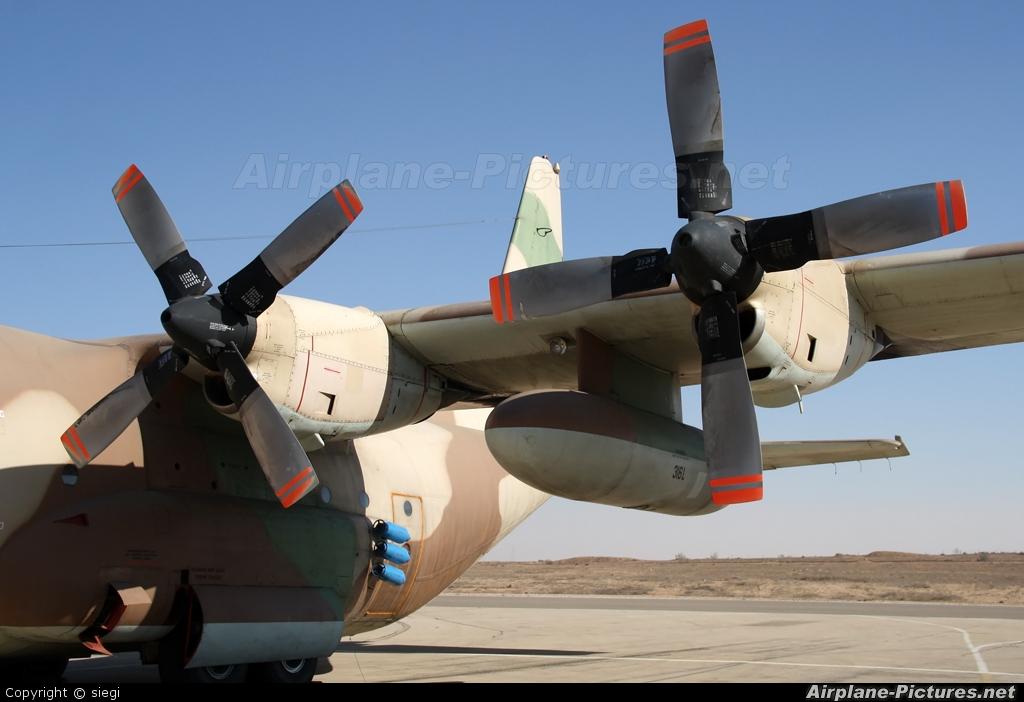 Israel - Defence Force 316 aircraft at Beersheba - Hatzerim