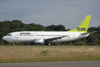 YL-BBS - Air Baltic Boeing 737-300