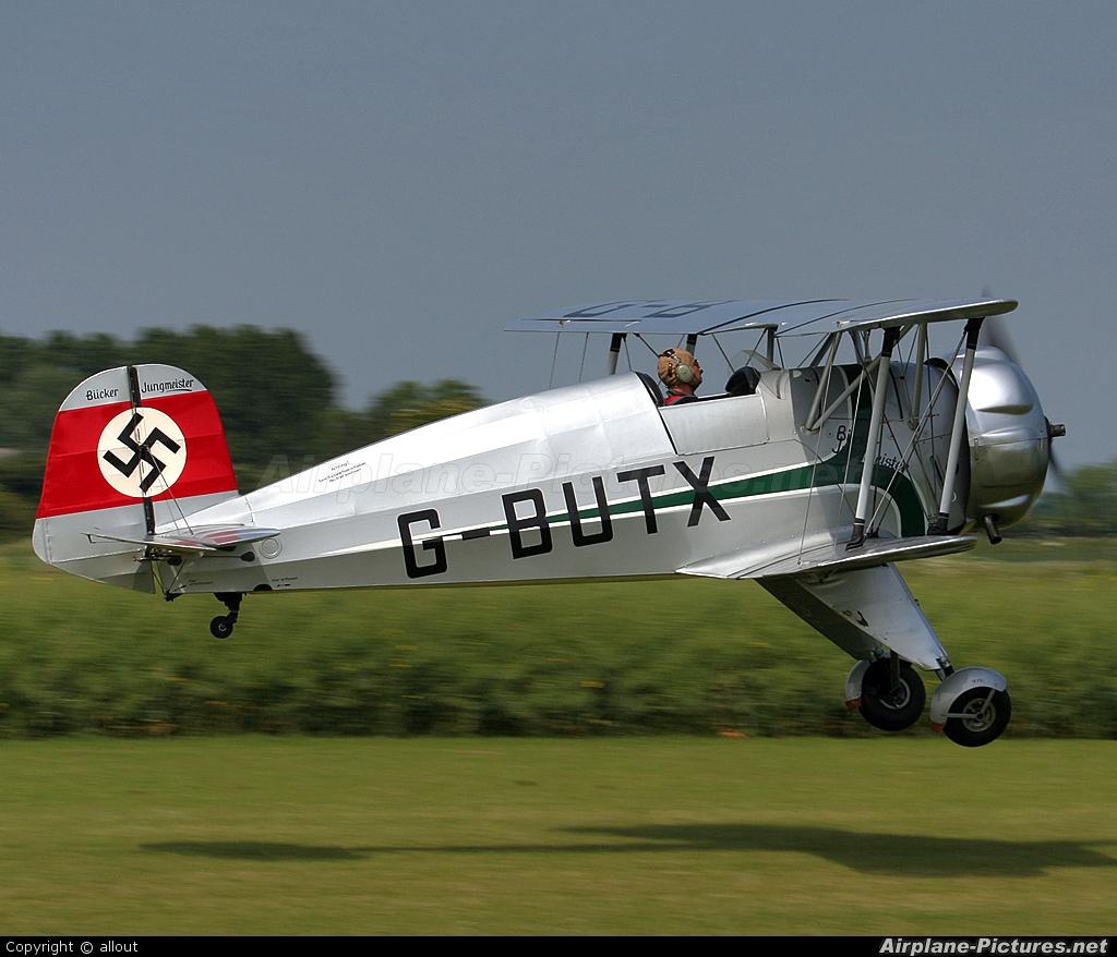 Private G-BUTX aircraft at Breighton