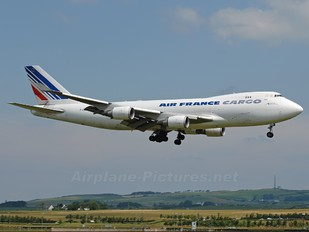 F-GIUB - Air France Cargo Boeing 747-400F, ERF