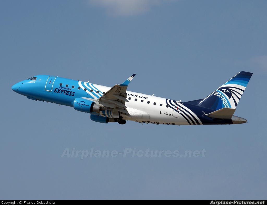 Egyptair Express SU-GDH aircraft at Malta Intl