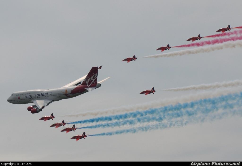 Virgin Atlantic G-VFAB aircraft at Biggin Hill