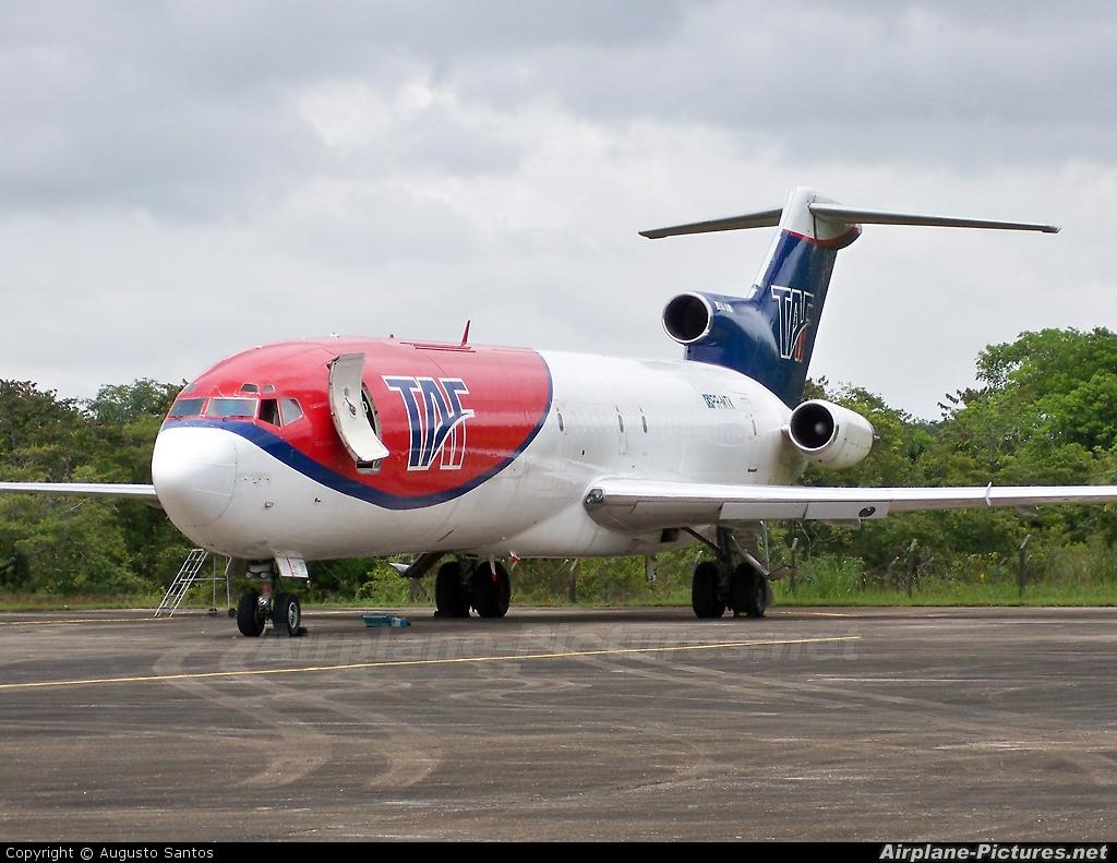 TAF Linhas Aéreas PR-MTK aircraft at Belém