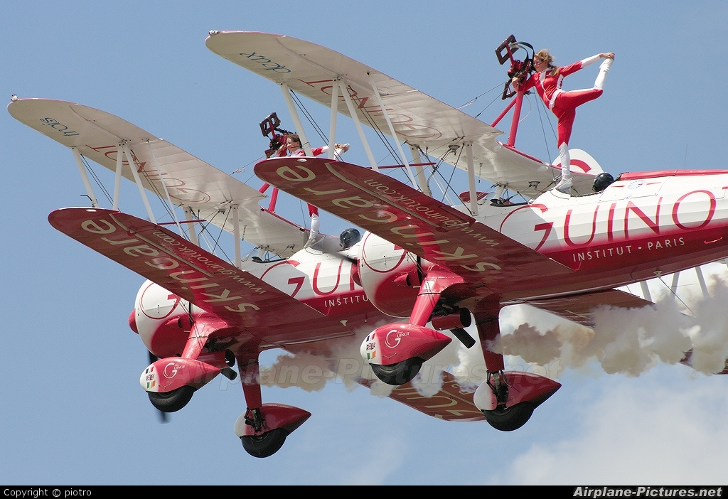 Guinot Wingwalkers N74189 aircraft at Biggin Hill