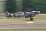 G-ASJV - Merlin Aviation Supermarine Spitfire IXb aircraft