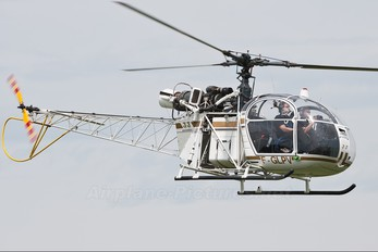 F-GLPV - Private Sud Aviation SA-313 / 318 Alouette II (all models)