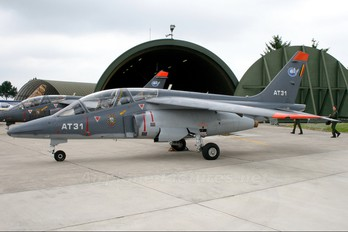 AT31 - Belgium - Air Force Dassault - Dornier Alpha Jet 1B