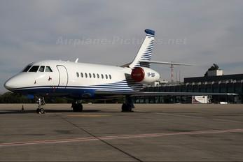 VP-BBP - Private Dassault Falcon 2000 DX, EX