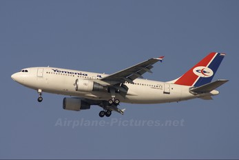 7O-ADJ - Yemenia - Yemen Airways Airbus A310