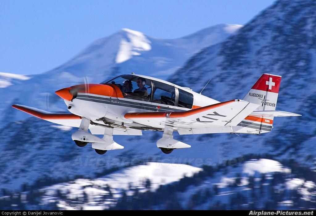 Flugschule Grenchen HB-KIY aircraft at Samedan - Engadin