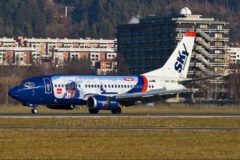 OM-SEC - SkyEurope Boeing 737-500
