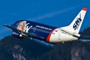 OM-SEG - SkyEurope Boeing 737-500 aircraft