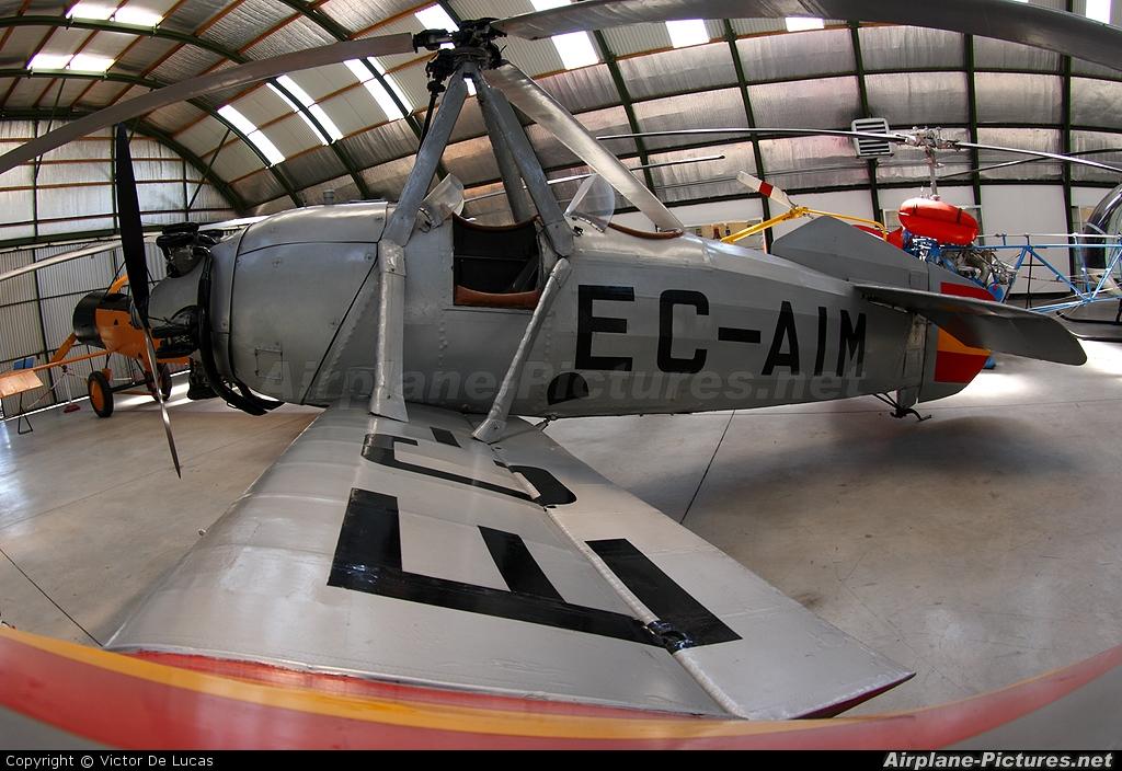 Private EC-AIM aircraft at Madrid - Cuatro Vientos