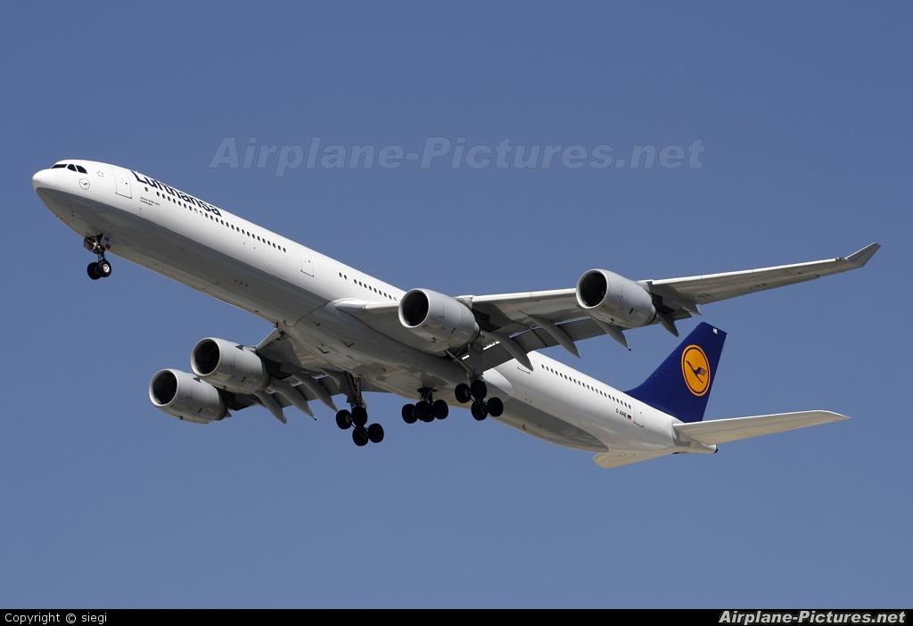 Lufthansa D-AIHE aircraft at Tel Aviv - Ben Gurion