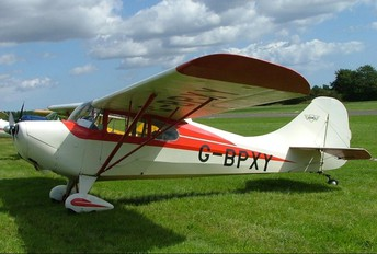 G-BPXY - Private Aeronca Aircraft Corp 11AC Chief