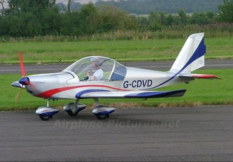 G-CDVD - Private Evektor-Aerotechnik EV-97 Eurostar