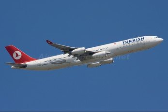 TC-JIH - Turkish Airlines Airbus A340-300