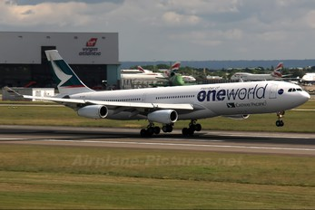 B-HXG - Cathay Pacific Airbus A340-300