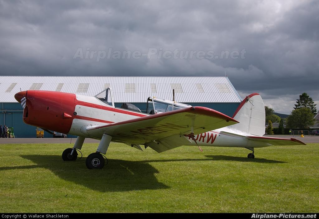 Skylark Aviation G-AORW aircraft at Perth - Scone