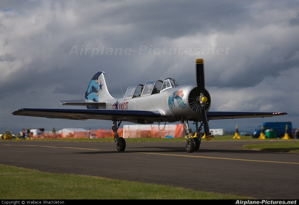 Private G-YKCT aircraft at Perth - Scone