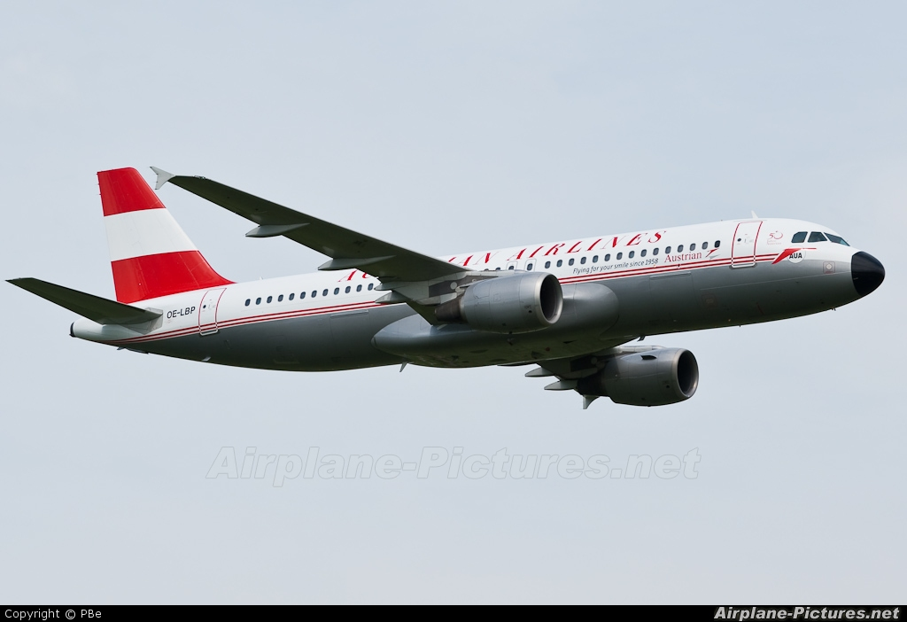 Austrian Airlines/Arrows/Tyrolean OE-LBP aircraft at Fischamend