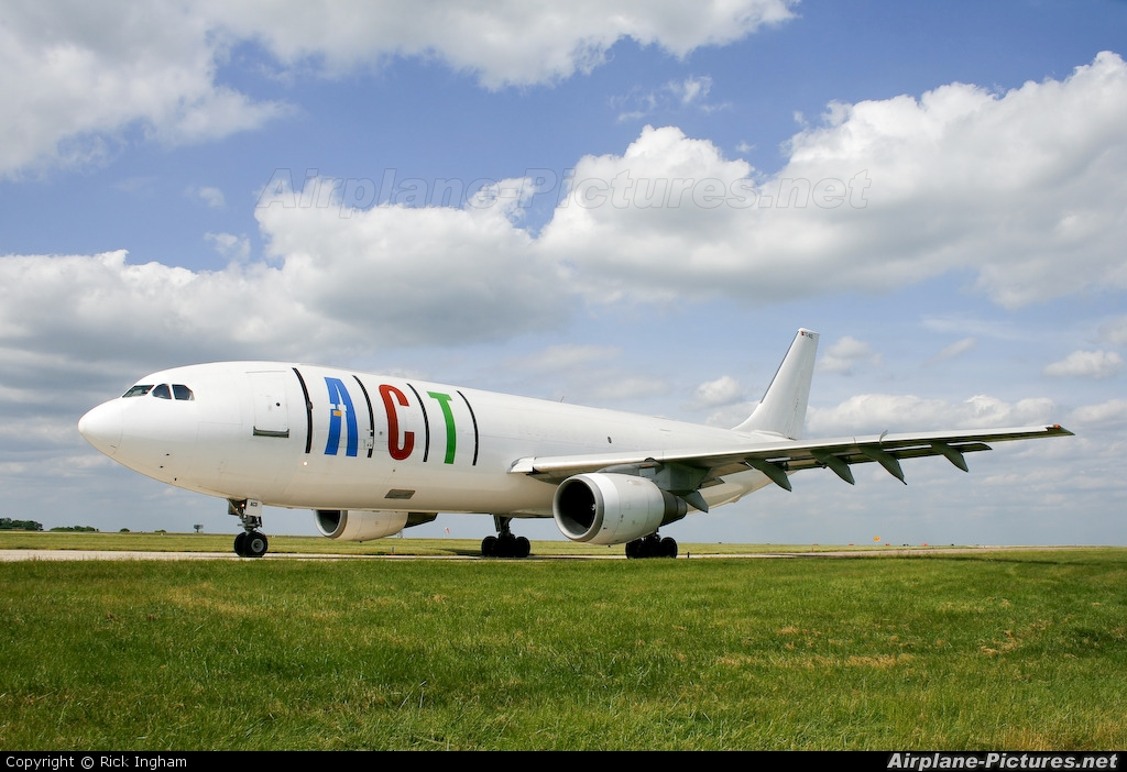 ACT Cargo TC-ACD aircraft at Lyneham