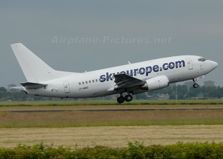 LY-AWG - SkyEurope Boeing 737-500
