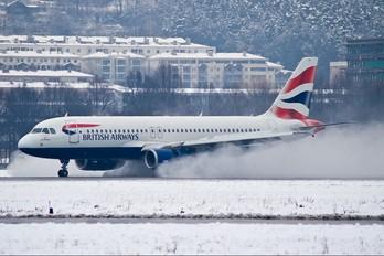 G-TTOE - GB Airways Airbus A320