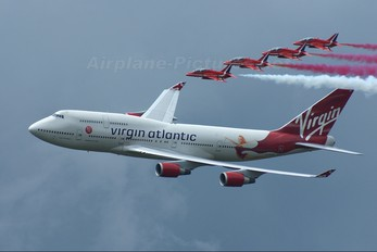 G-VFAB - Virgin Atlantic Boeing 747-400