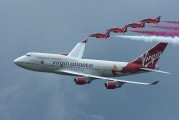 G-VFAB - Virgin Atlantic Boeing 747-400 aircraft
