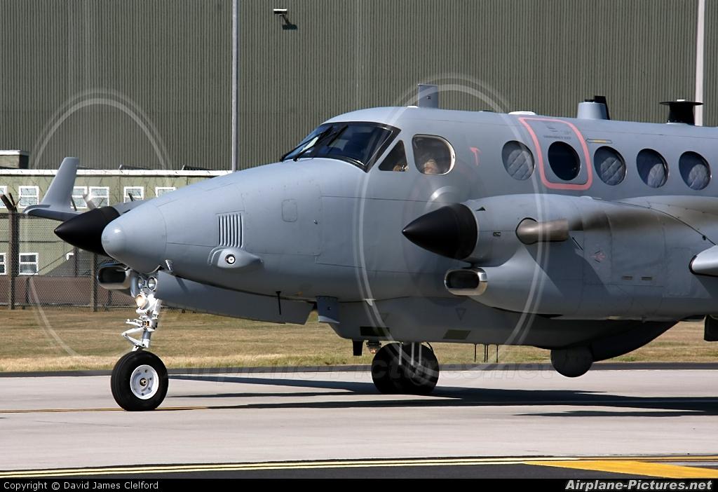 Royal Air Force ZZ416 aircraft at Waddington