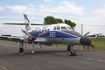 XX488 - Royal Navy Scottish Aviation Jetstream T.2