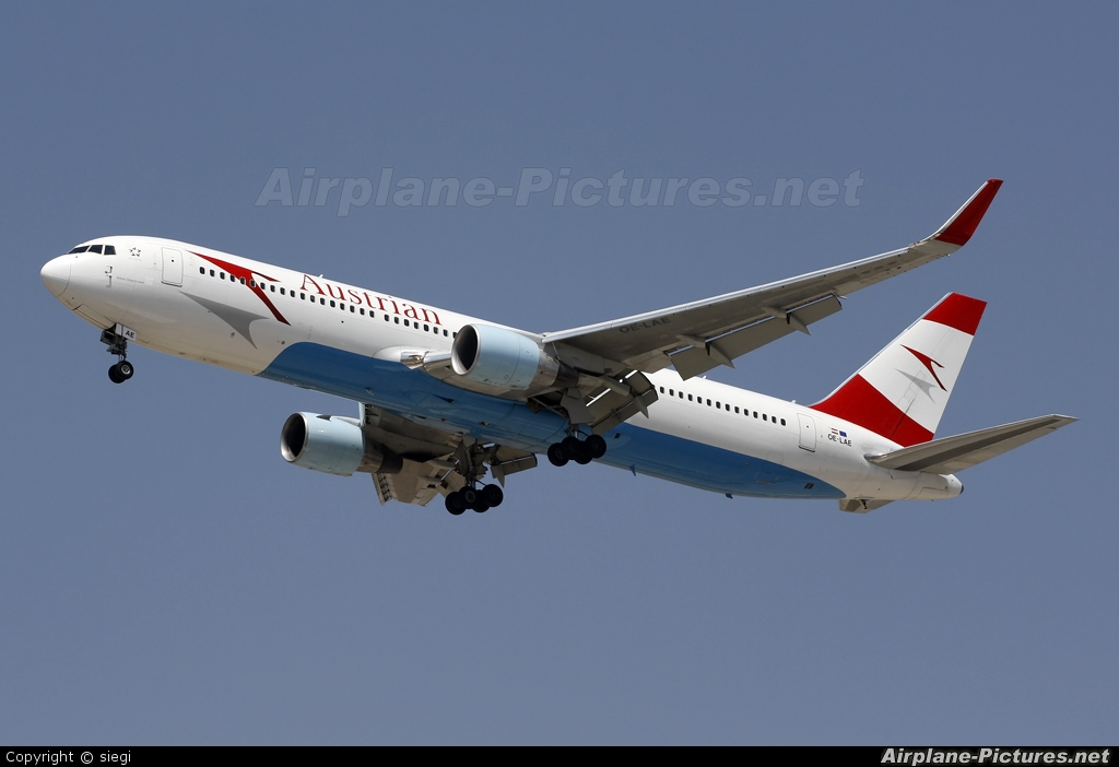 Austrian Airlines/Arrows/Tyrolean OE-LAE aircraft at Tel Aviv - Ben Gurion