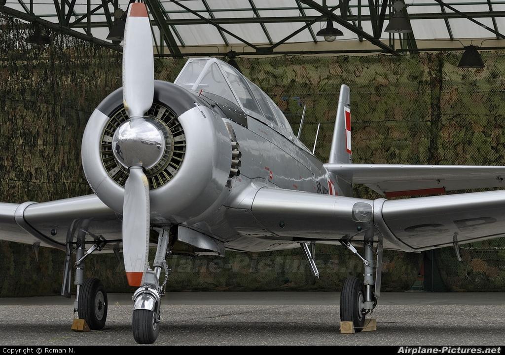 Private SP-YBD aircraft at Bydgoszcz - Szwederowo