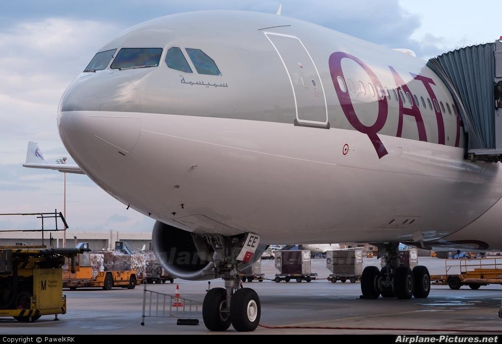 Qatar Airways A7-AEE aircraft at Munich