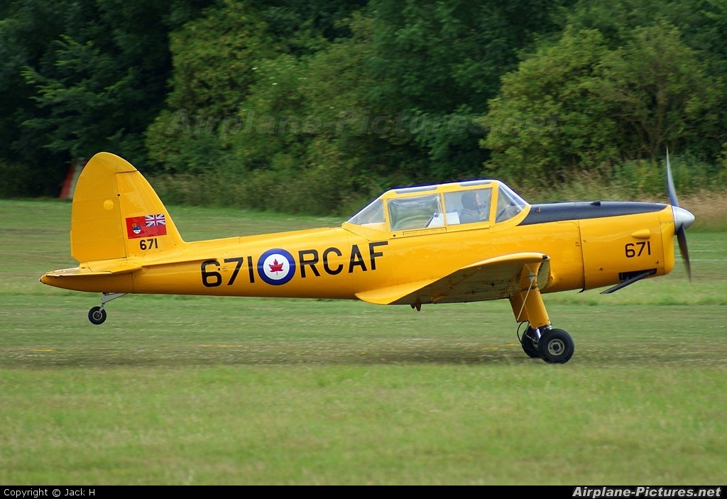 The Shuttleworth Collection G-BNZC aircraft at Old Warden