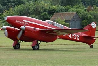 G-ACSS - The Shuttleworth Collection de Havilland DH. 88 Comet
