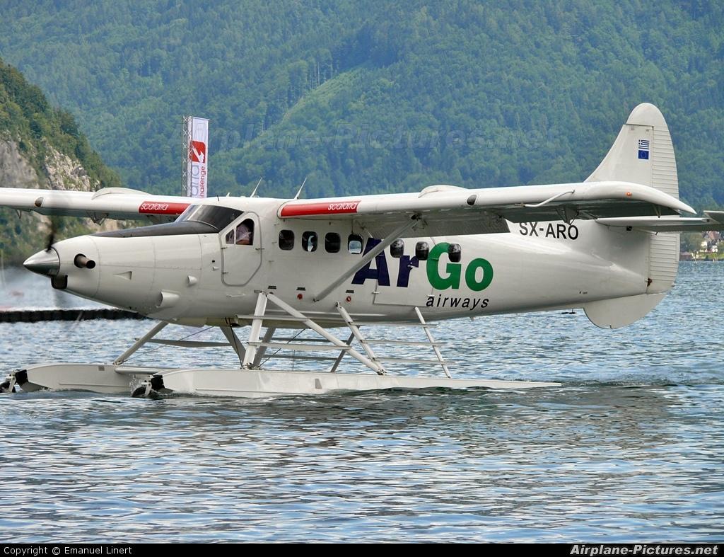 ArGo Airways SX-ARO aircraft at Off Airport - Austria