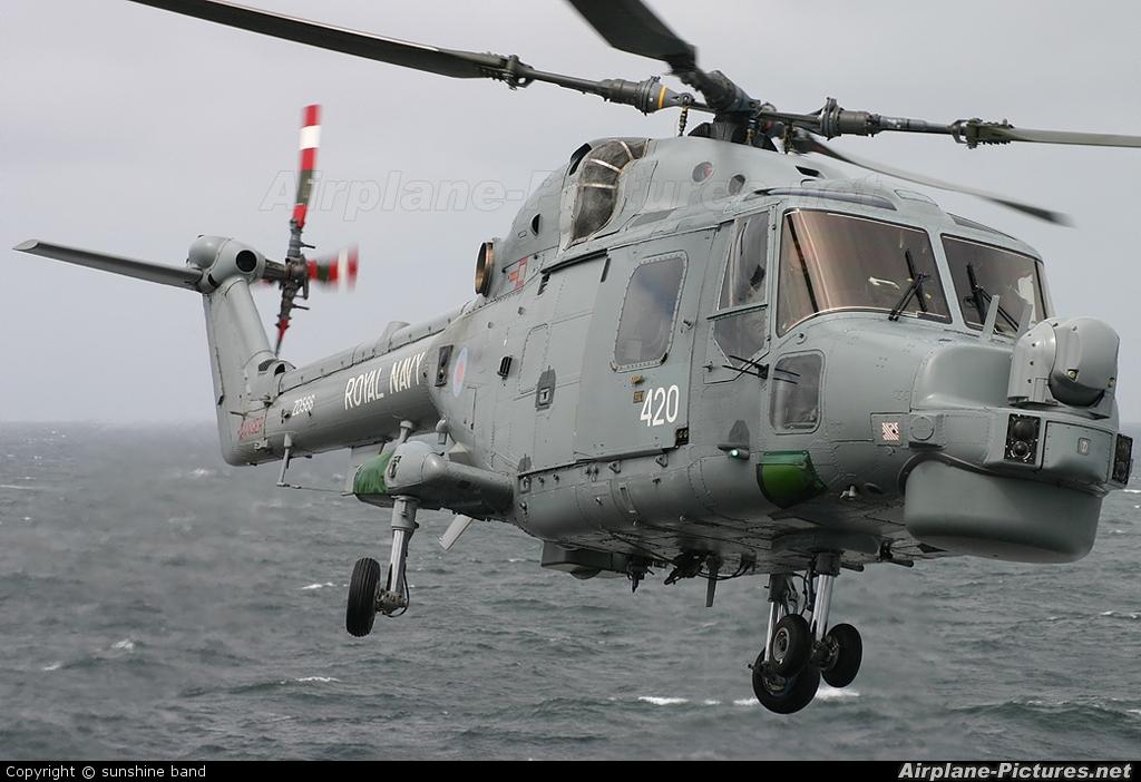 Royal Navy ZD566 aircraft at Off Airport - Scotland