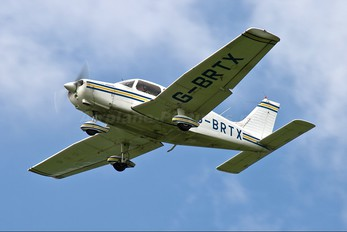 G-BRTX - Belfast Flying Club Piper PA-28 Warrior